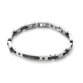 Bracciale 4US in Acciaio con Targa - Colorfull Rectangle - 4UBR3267