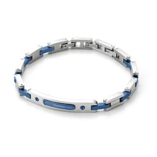 Bracciale 4US in Acciaio con Targa - Colorfull Rectangle - 4UBR3268
