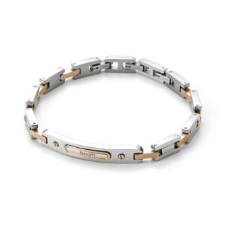 Bracciale 4US in Acciaio con Targa - Colorfull Rectangle - 4UBR3269