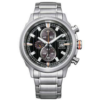 Orologio Eco Drive Cronografo Citizen in Acciaio - Crono Sport - CA0730-85E