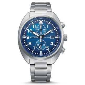 Orologio Eco Drive Cronografo Citizen in Acciaio - Crono - CA7040-85L