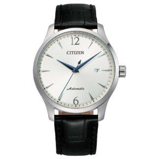 Orologio Automatico Citizen in Acciaio e Pelle - Classic - NJ0110-18A