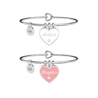 Bracciale Kidult in Acciaio Mother-Daughter | Amore Infinito - Family - 731719