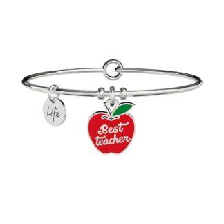 Bracciale Kidult in Acciaio Mela | Best Teacher – Love – 731747