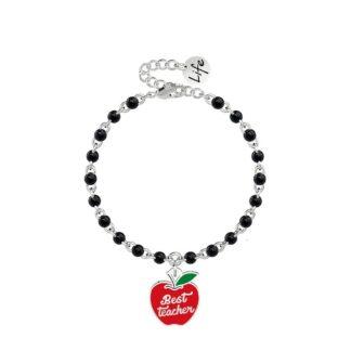 Bracciale Kidult in Acciaio Mela | Best Teacher – Love – 731853