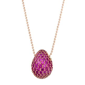 Collana da Donna Tatiana Fabergé in Argento e Zirconi – 9NINE – berryfield