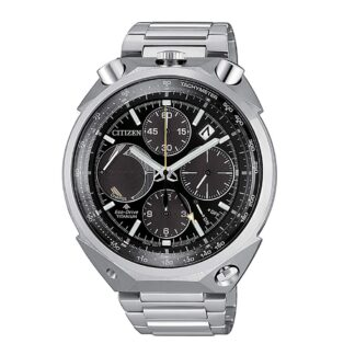 Orologio Eco Drive Cronografo Citizen in Super Titanio - Bull Head - AV0080-88E
