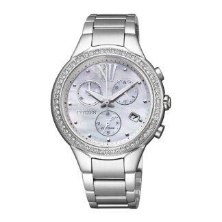 Orologio Eco Drive Cronografo Citizen in Acciaio - Lady - FB1321-56A