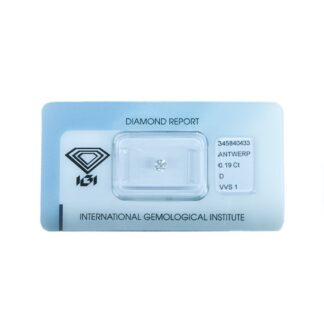 Diamante Blisterato Certificato IGI da 0.19 Carati - 345840433