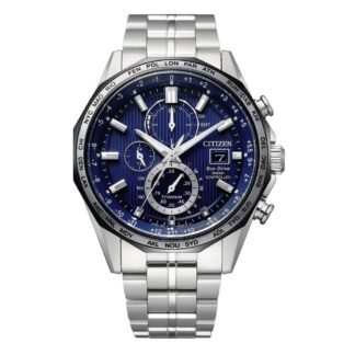 Orologio Eco Drive Cronografo Citizen in Super Titanio - H800 Radiocontrollato - AT8218-81L