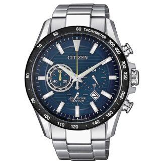Orologio Eco Drive Cronografo Citizen in Super Titanio - Super Titanium - CA4444-82L