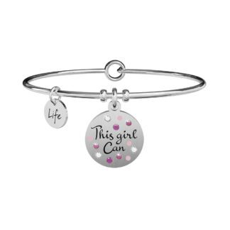 Bracciale Kidult in Acciaio This Girl Can - Philosophy - 731894